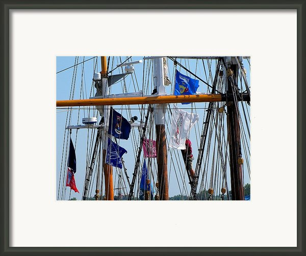 Tall Ship Series 15 Framed Print By Scott Hovind