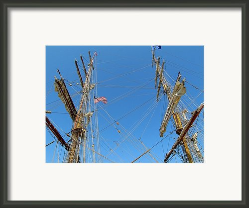 Tall Ship Series 16 Framed Print By Scott Hovind