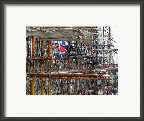 Tall Ship Series 4 Framed Print By Scott Hovind