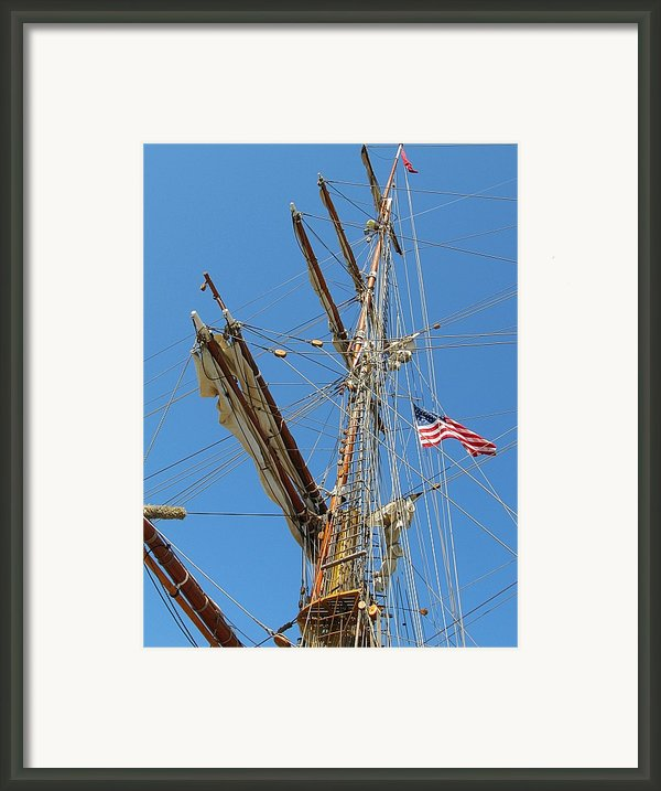 Tall Ship Series 8 Framed Print By Scott Hovind