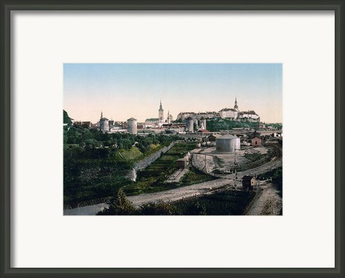 Tallinn Estonia - Formerly Reval Russia Ca 1900 Framed Print By International  Images
