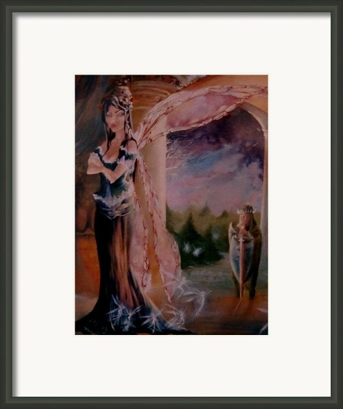 Tamlin Framed Print By Jackie Rock