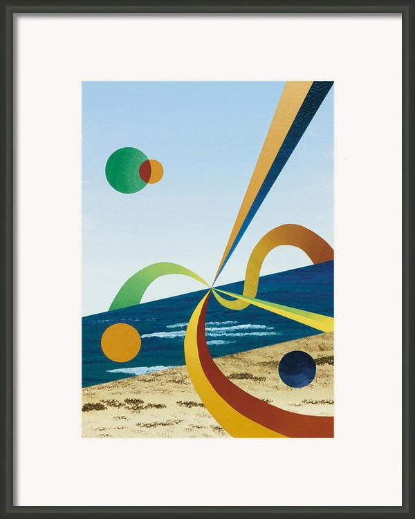 Tangers  Framed Print By Eliot Lebow