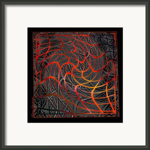 Tangled Web Of Lies Framed Print By Ginny Schmidt