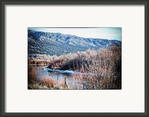 Taos Creek Framed Print By Lisa  Spencer