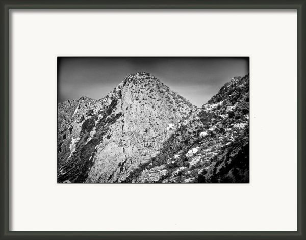Taos Mountain 3 Framed Print By Lisa  Spencer