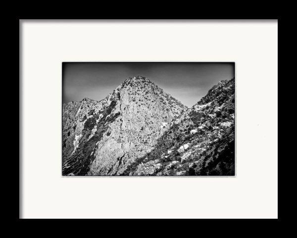 Taos Mountain 3 Framed Print By Lisa  Spencer