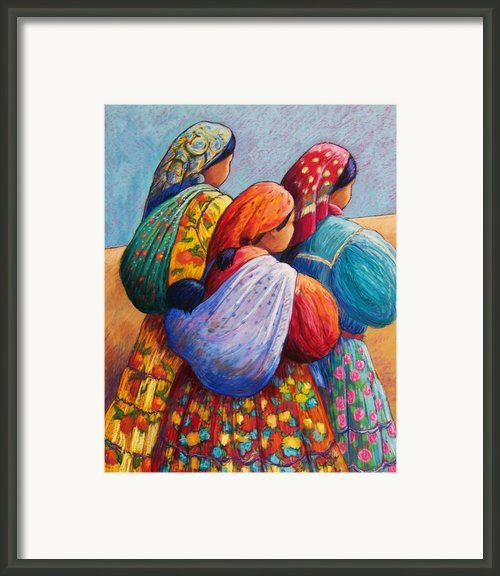 Tarahumara Women Framed Print By Candy Mayer