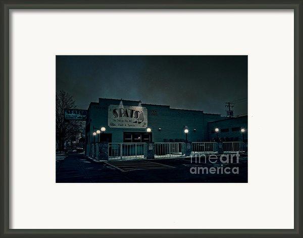 Tav On The Ave Framed Print By Joel Witmeyer