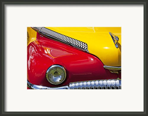 Taxi De Soto Framed Print By Garry Gay