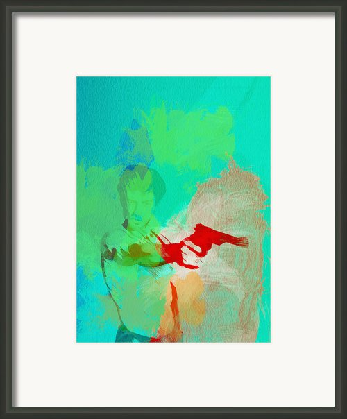 Taxi Driver Framed Print By Irina  March
