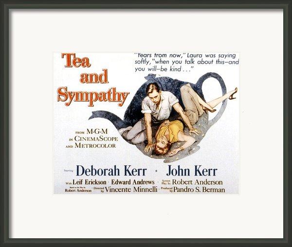 Tea And Sympathy, John Kerr, Deborah Framed Print By Everett
