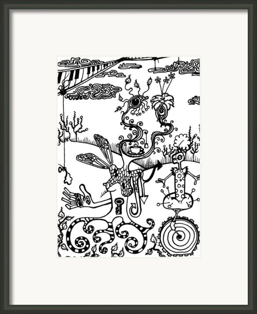 Tea In The Sahara  Framed Print By Kelly Jade King