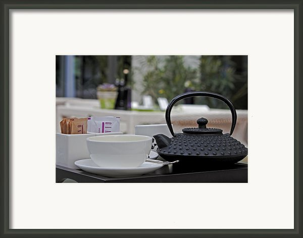 Tea Time Framed Print By Joana Kruse