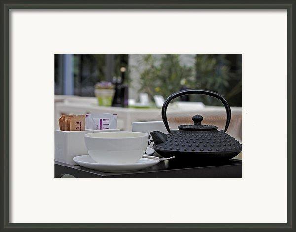 Tea Time Framed Print By Joana Kruse