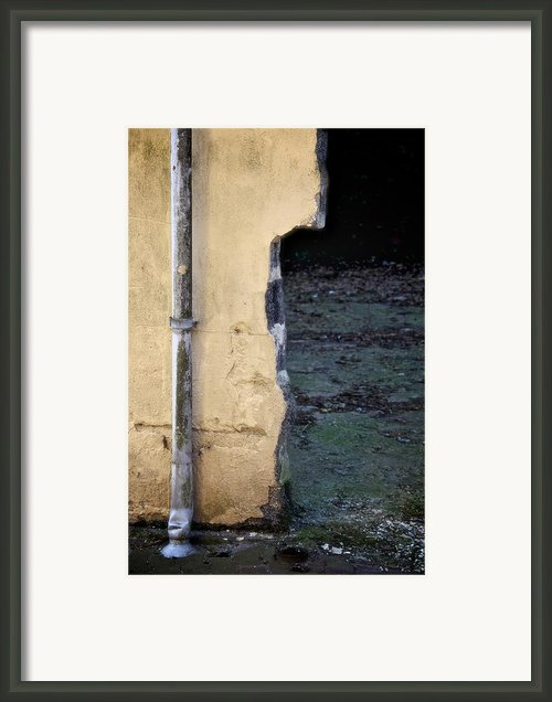 Tear Framed Print By Odd Jeppesen