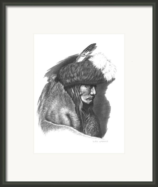 Tearing Robe Framed Print By Lee Updike