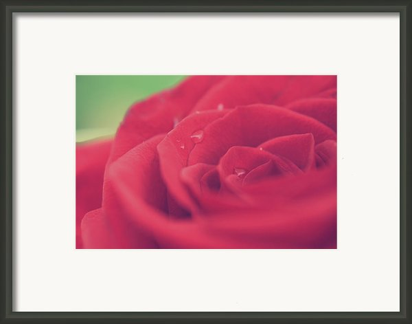 Tears Of Love Framed Print By Laurie Search