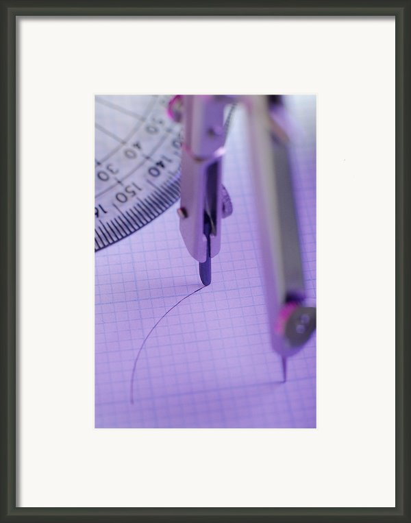 Technical Drawing Framed Print By David Aubrey
