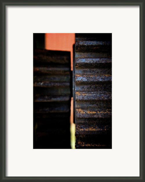 Teeth 2 Framed Print By Odd Jeppesen