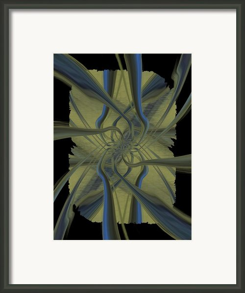 Tendrils Framed Print By Tim Allen