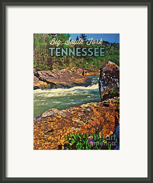 Tennessee Big South Fork Framed Print By Flo Karp