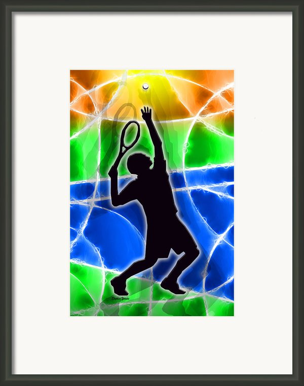 Tennis Framed Print By Stephen Younts