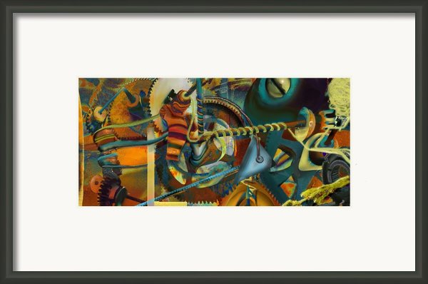 Tensile Test Of The Thread Of Patience Framed Print By Anne Weirich