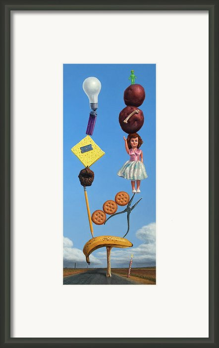 Tenuous Still-life 2 Framed Print By James W Johnson