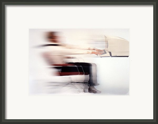 Terminal Speed Framed Print By Jerry Mcelroy