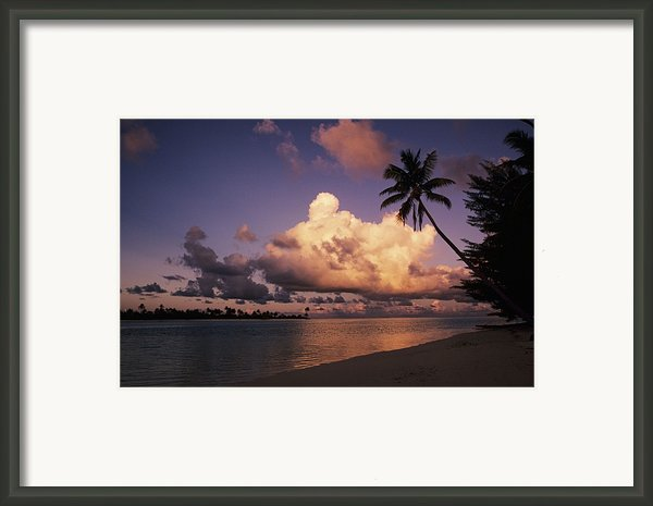 Tetiaroa Framed Print By Larry Dale Gordon - Printscapes