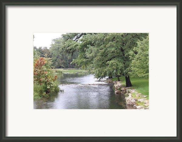 Texas Water Scene Framed Print By Graham Winchester