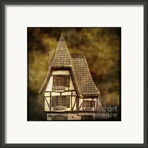 Textured House Framed Print By Bernard Jaubert