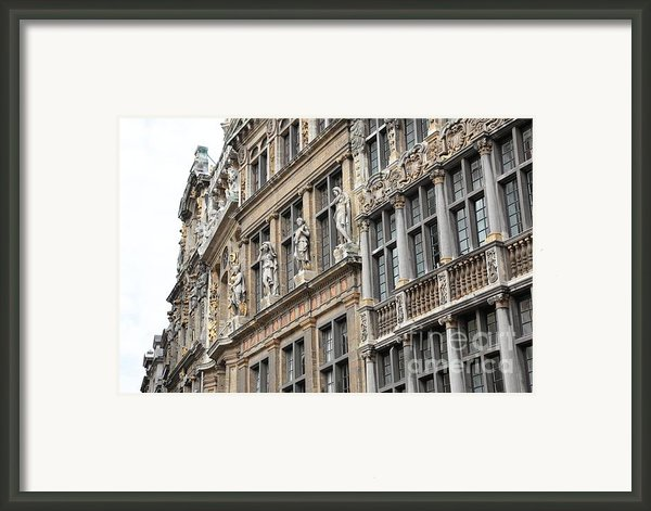 Textures Of Brussels Framed Print By Carol Groenen