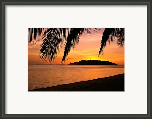 Thailand, Koh Pagan Framed Print By William Waterfall - Printscapes
