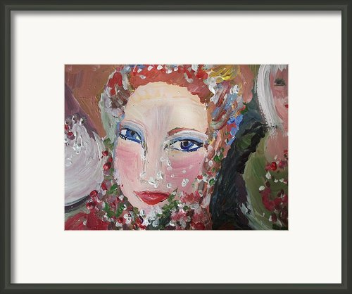 Thank You Helen Framed Print By Judith Desrosiers
