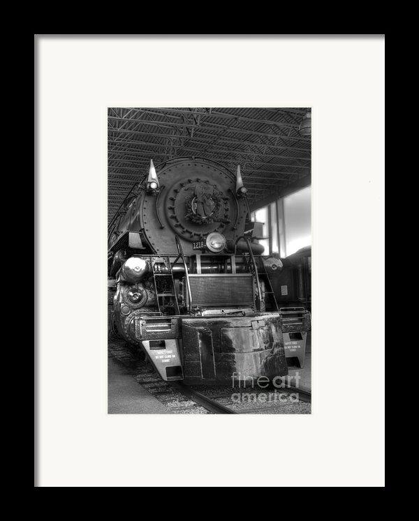 The 1218 Framed Print By Dan Stone