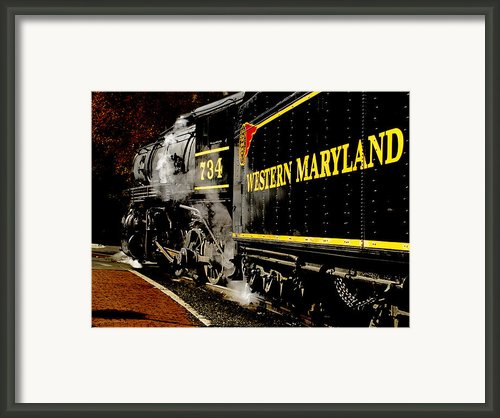 The 734 Framed Print By Steven  Digman