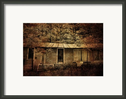 The Abandoned Framed Print By Emily Stauring