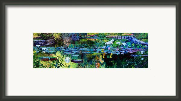 The Abstraction Of Beauty One And Two Framed Print By John Lautermilch