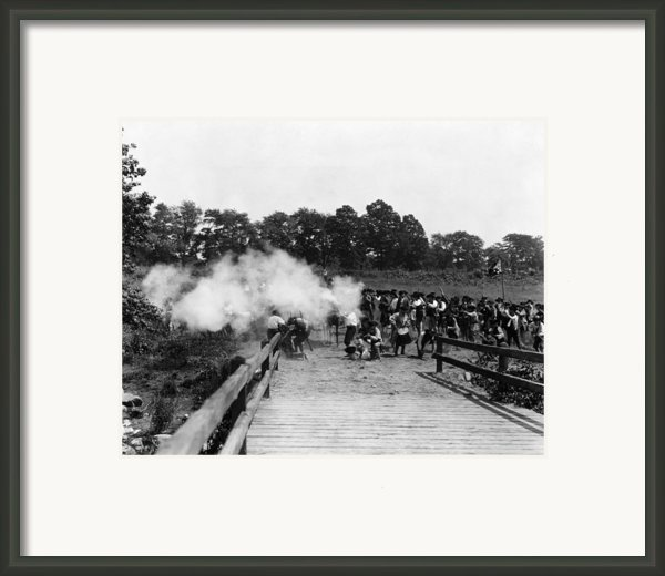 The American Revolution,  A 20th Framed Print By Everett
