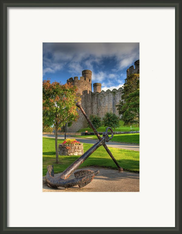 The Anchor Framed Print By Adrian Evans