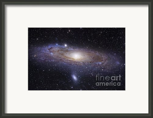 The Andromeda Galaxy Framed Print By Robert Gendler