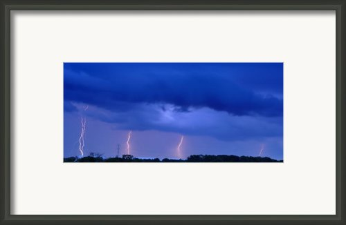The Approching Storm Framed Print By Mark Fuller