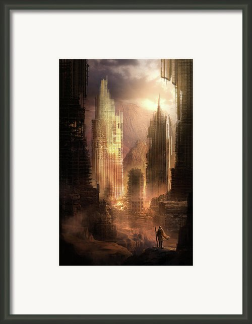 The Arrival Framed Print By Philip Straub