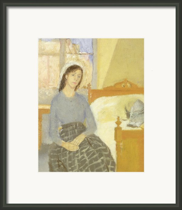 The Artist In Her Room In Paris Framed Print By Gwen John