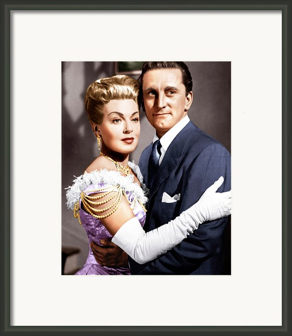 The Bad And The Beautiful, From Left Framed Print By Everett