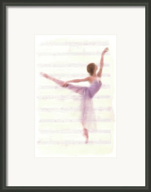The Ballerina Framed Print By Stefan Kuhn