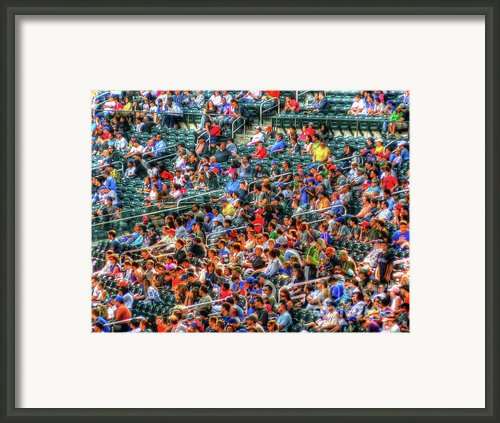 The Ballgame Framed Print By Jeff Breiman