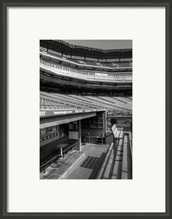 The Ballpark In Arlington Framed Print By Ricky Barnard